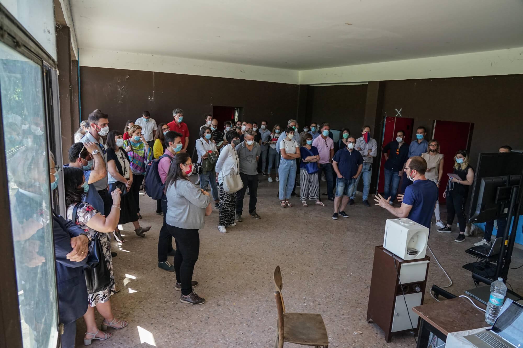 Presentazione progetto Campus Dei Campioni San Lazzaro di Savena