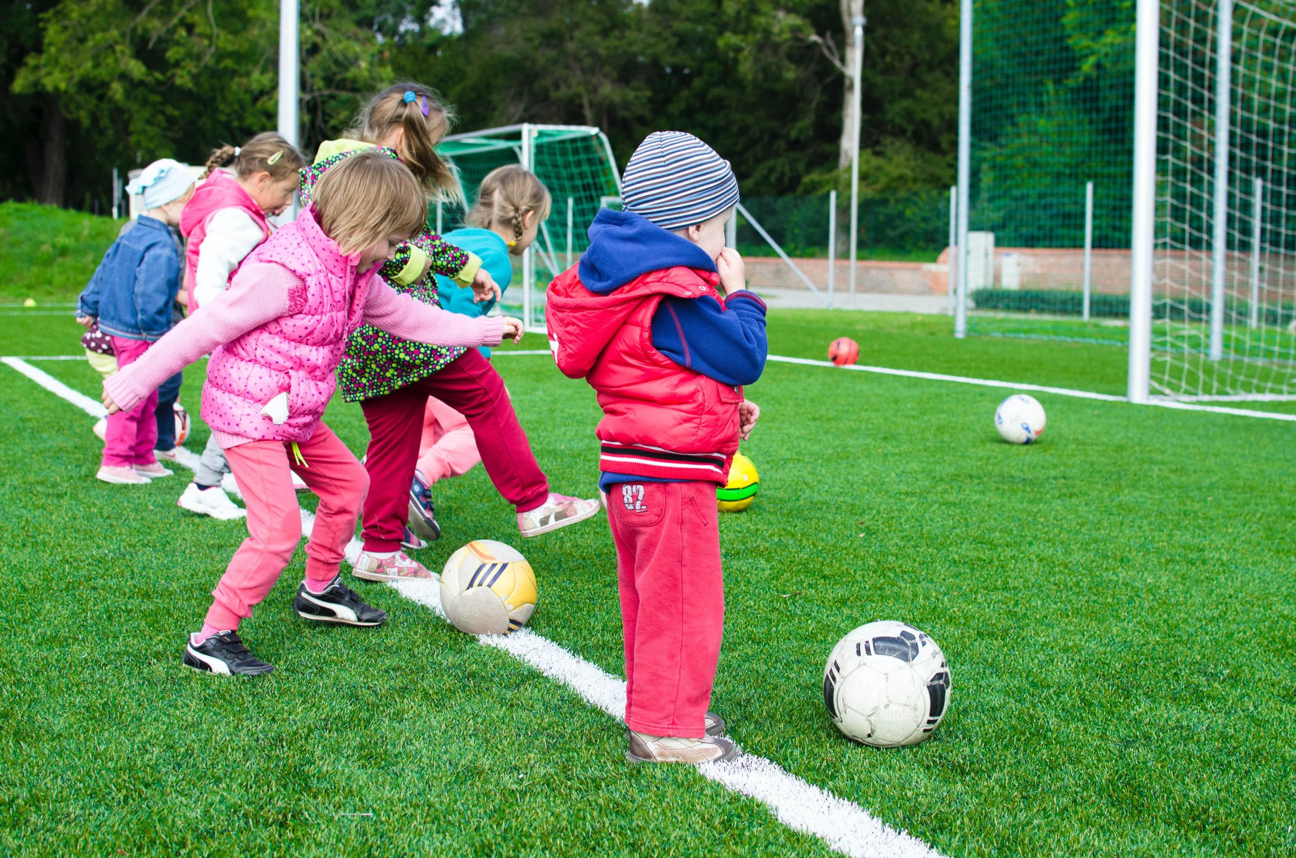 asilo campus calcio bambini